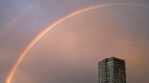 Rainbow arc by grapunzel