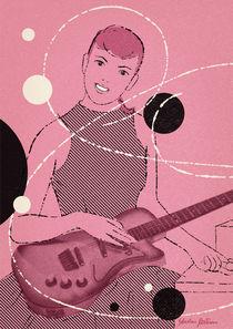 Gitarren-Girl von kustom-kards