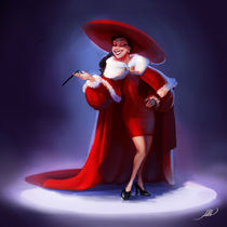 Christmas Outfit in a Fashion Show by Juan Alvarez de Lara