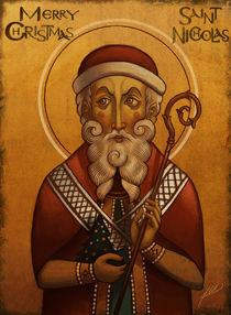 Byzantine Santa Claus von Juan Alvarez de Lara