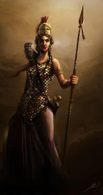 Goddess Athena by Juan Alvarez de Lara