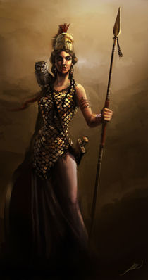 Goddess Athena von Juan Alvarez de Lara
