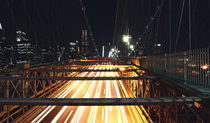 Night on the Brooklyn Bridge by Vlad Klikfeld