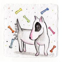 Bull Terrier von gabriela castro