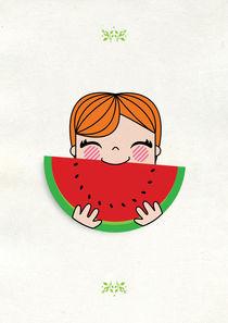 'watermelon redhead' by gabriela castro