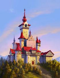 Fairytale Castle von Juan Alvarez de Lara