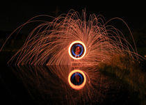 Painting with light 2 by Buster Brown Photography
