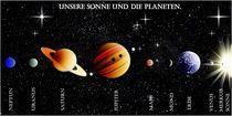 Das Planetensystem. von Bernd Vagt