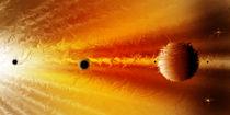 Proto - Planetensystem. von Bernd Vagt