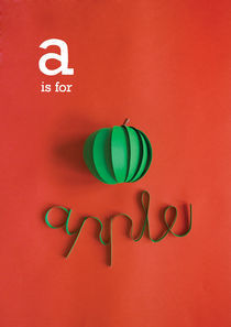 a is for apple by Clinton Stringer