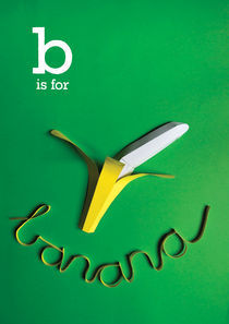 b is for banana by Clinton Stringer