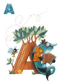 A by Bellebrute von Atelier Tricorne