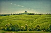 Hügel in der Toskana von Jürgen Müngersdorf