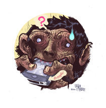 iPhone of the Apes von Logan Faerber