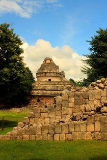 Observatorium Chichén Itzá - eine der bedeutendsten Ruinenstätten auf Yucatan von Mellieha Zacharias