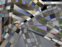 Abstraktes Kachelbild von Peter Norden