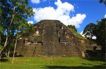 Schöne Maya Pyramide in Tikal, Guatemala by mellieha