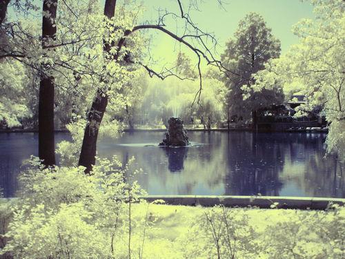 Infrared-lake