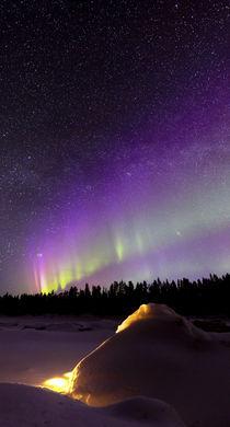 Violet nights by Antti Pietikäinen