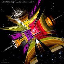Cosmic fraktal abstract. by Bernd Vagt