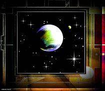 Planetare Aussicht. von Bernd Vagt