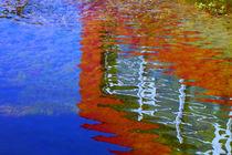 Rotes Unterwasserhaus by blickpunkte