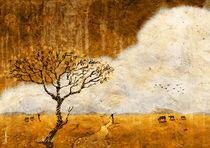 The golden paddy field by Nirupam Borboruah