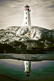 Peggy's Cove by Sebastian Petrescu