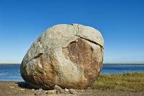 Huge Coastal Boulder by John Greim