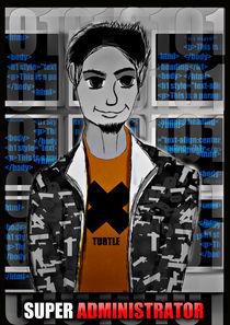 Super Admin A3 Poster von Martin Siilak