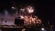 Baseball and Fireworks von Raphael Temblador