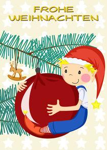 Frohe Weihnachten Wichtel von Michaela Heimlich