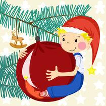 Weihnachtswichtel Deko von Michaela Heimlich