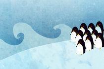 Penguins by khiaraart