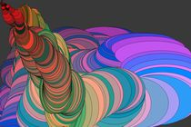 Rainbow Worm No.1 by Callil Capuozzo