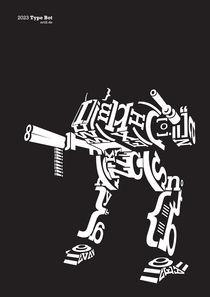 'Type Bot Black' by artill