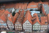 Über den Dächern von Celle von Christine Bässler