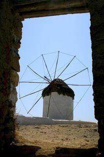View from my room in Mykonos by Juan Carlos  Medina Gedler