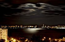 Midtown moon light von Juan Carlos  Medina Gedler