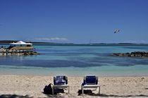 Chairs on the beach by Juan Carlos  Medina Gedler
