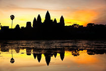 Angkor Wat at sunrise by Stefan Nielsen