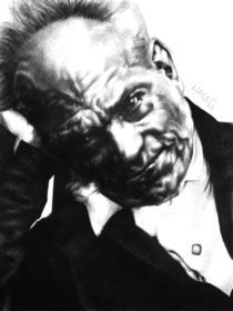 Arthur Schopenhauer by Hagop Der Hagopian