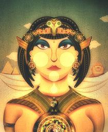Cleopatra Portrait by Daniela Miras