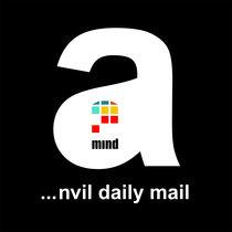 anvil daily mail - free poems og logo by Kamila Galecka