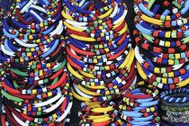 Colorful African Necklaces and Bracelets von Neil Overy