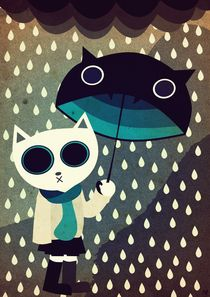When It Rains by Nimas Arum