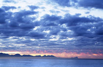 Dawn Over False Bay Towards Cape Hangklip, South Africa von Neil Overy