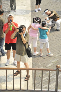 World souvenir: Beijing, Tian Tan Vault of Heaven von Manel Clemente
