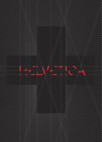 Let there be Helvetica – black von madebyzwoelf