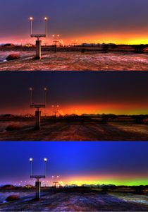 Collage; Landing lights von iskaksen